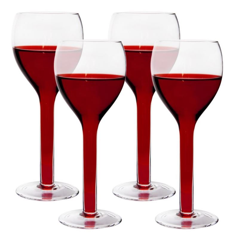 Rona – Florence Hollow Stem Red Wine 345ml set of 4 (Made in Europe)