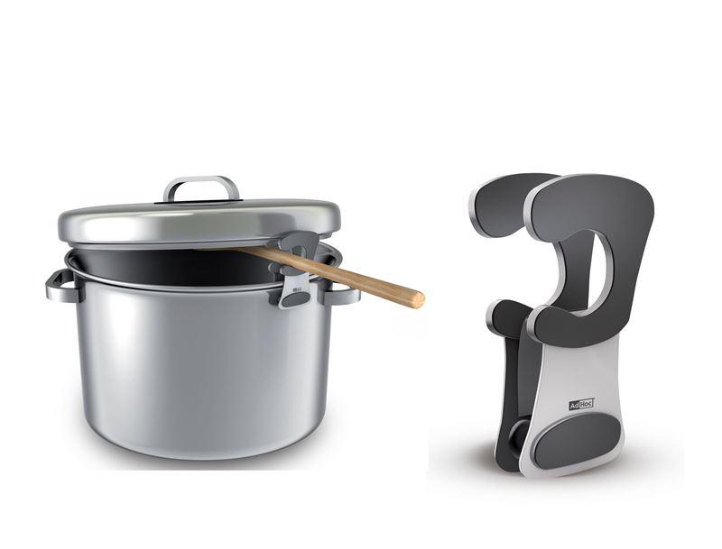 Ad-Hoc – Pot Utensil Clipper