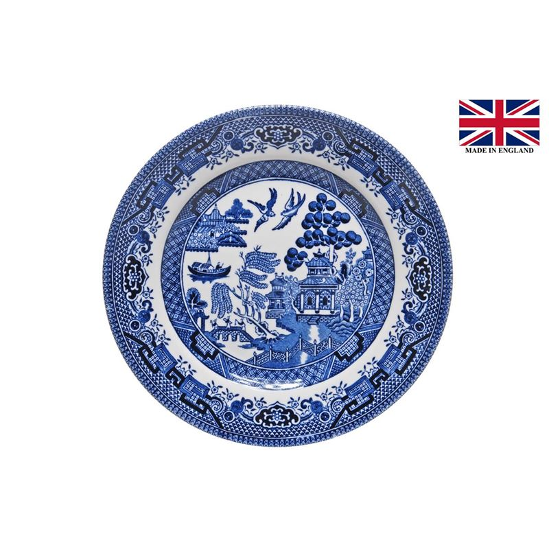 Queens by Churchill – Blue Willow Side Plate 17cm (Made in England)