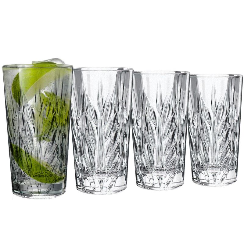 Dan Samuels – CologneLead CrystalHigh Ball 365ml Set of 4Made in Germany by Nachtmann