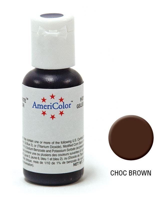AmeriColor – Soft Gel Paste 21.3g Chocolate Brown