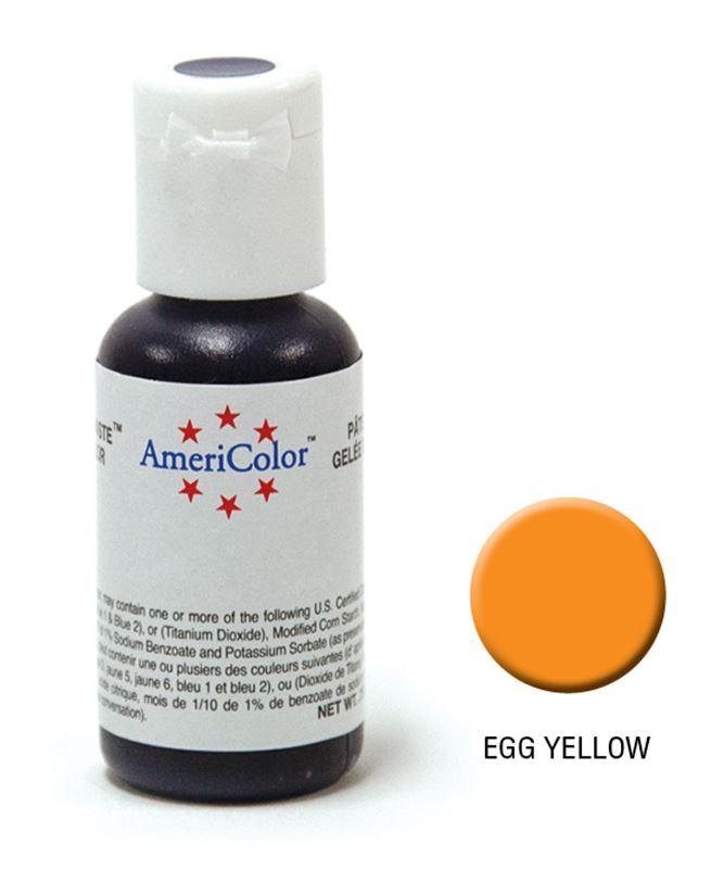 AmeriColor – Soft Gel Paste 21.3g Egg Yellow