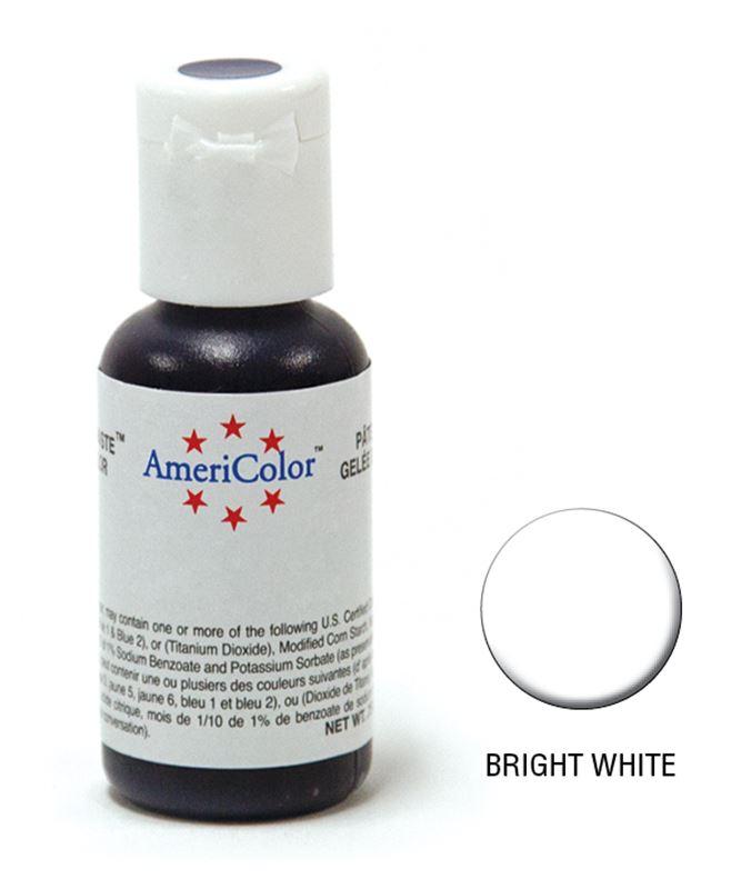 AmeriColor – Soft Gel Paste 21.3g Bright White
