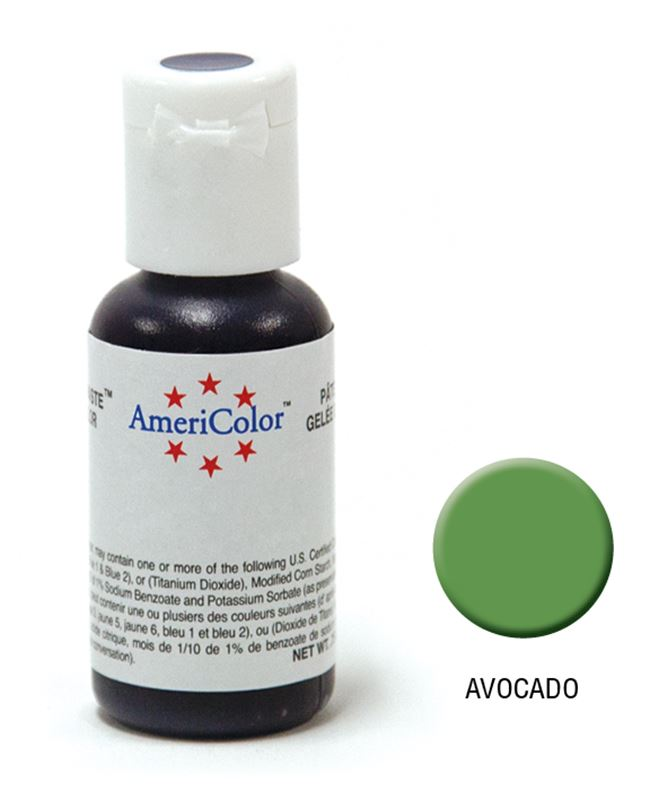 AmeriColor – Soft Gel Paste 21.3g Avocado