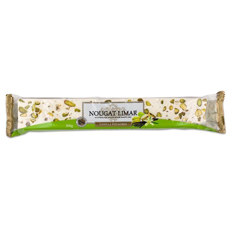 Nougat Limar – Vanilla Pistachio Nougat Full Log 300g(Made in Australia)