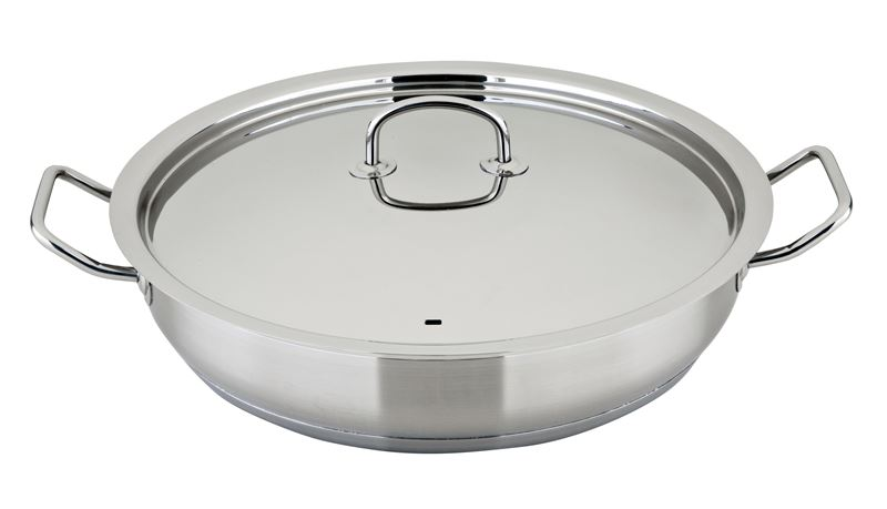 Benzer – Berlin Professional 18/10 Stainless Steel Covered Chef's Pan 32cm