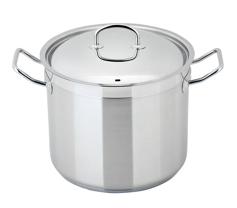 Benzer – Berlin Professional 18/10 Stainless Steel 28cm LARGE Covered Casserole 10.75Ltr