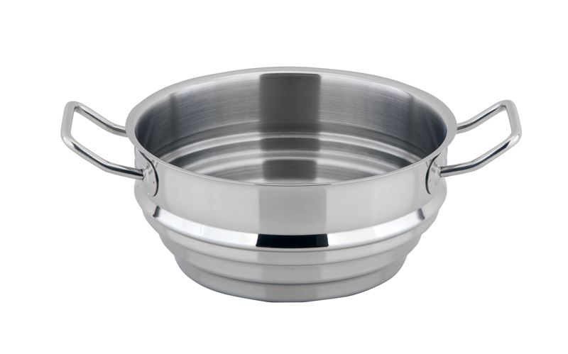 Benzer – Berlin Professional 18/10 Stainless Steel Multi Steamer for 16,18 and 20cm