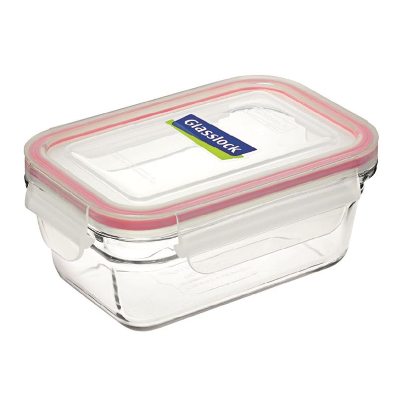 Glasslock – Tempered Glass OVEN SAFE Rectangular Container 485ml