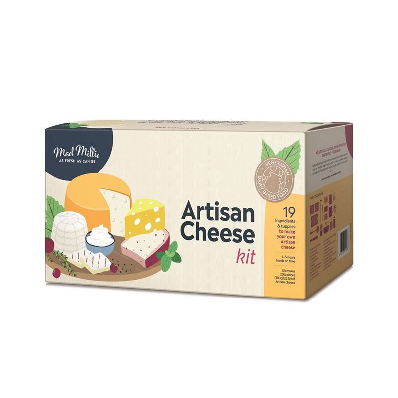 Mad Millie – Artisan's One Day Cheese Kit