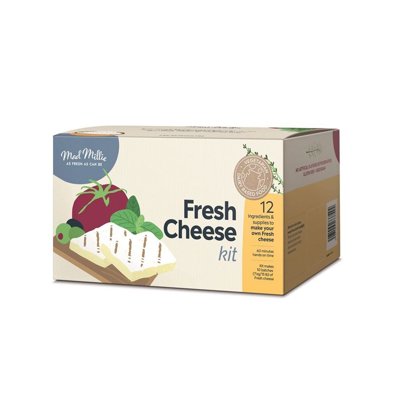 Mad Millie – Fresh Cheese Complete Kit