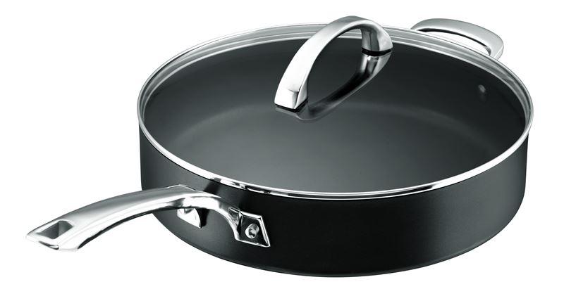 Anolon Professional+ – 30cm 4.7Ltr Sauté Pan with Lid