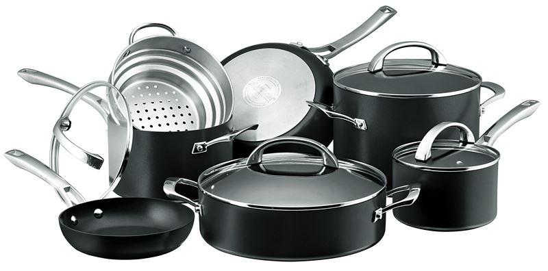 Anolon Professional+ – 7 Piece Professional Non Stick Cookware Set