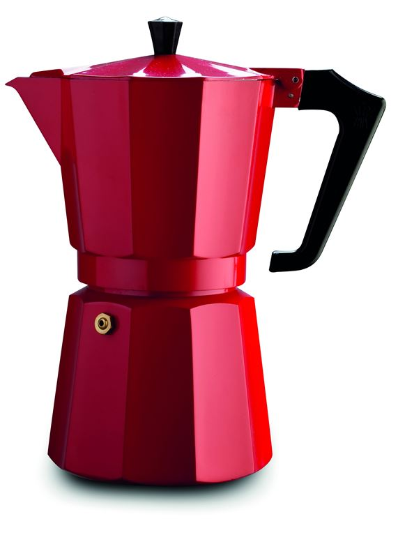 Pezzetti – Italexpress 6cup Coffee Maker Red (Made in Italy)