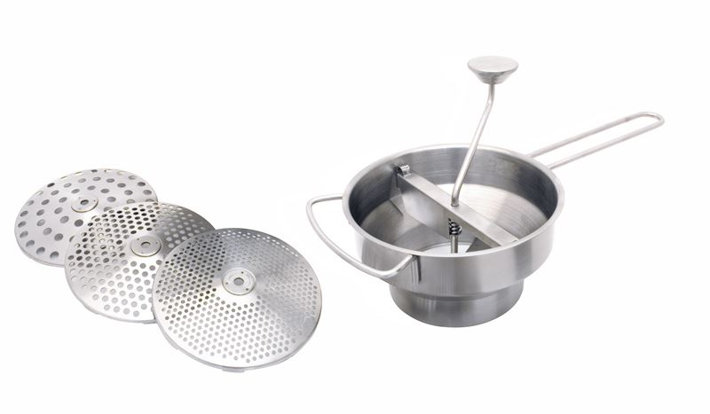 Cuisena – Stainless Steel Food Mill with 3 Discs