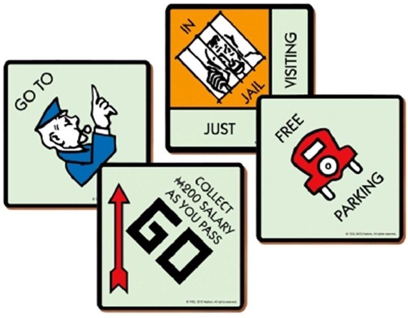 Monopoly – Coasters Set of 4