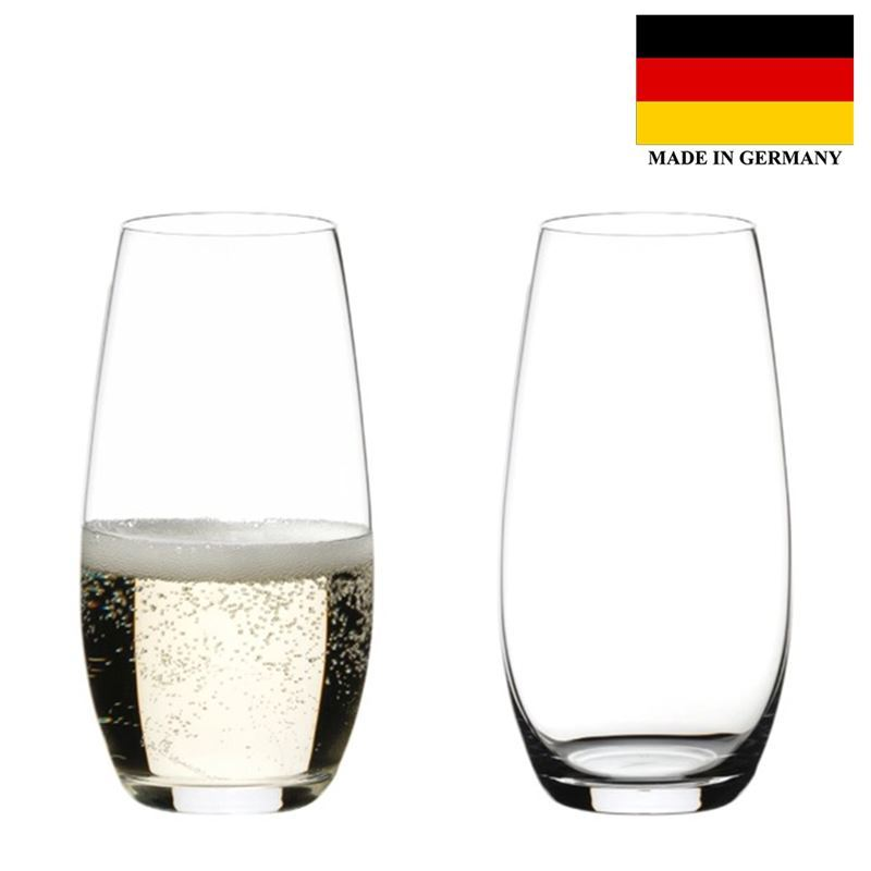 Riedel – 'O Series'Champagne264ml Set of 2 (Made in Germany)