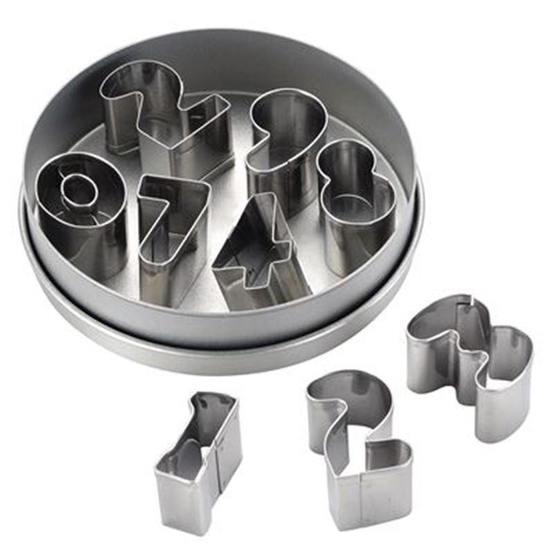 Cake Boss – 9pc Mini Cutters Set Numbers