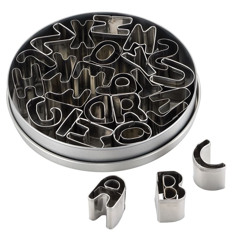 Cake Boss – 26pc Mini Cutters Set Alphabet