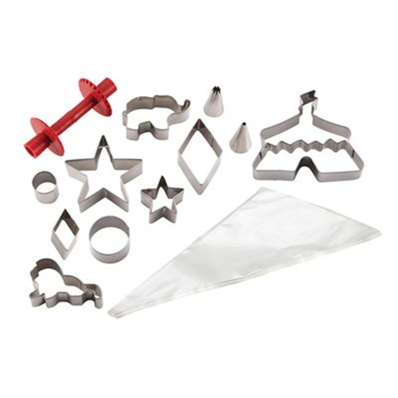 Cake Boss – Cake Kit 24pc Cutters and Piping Set Circus