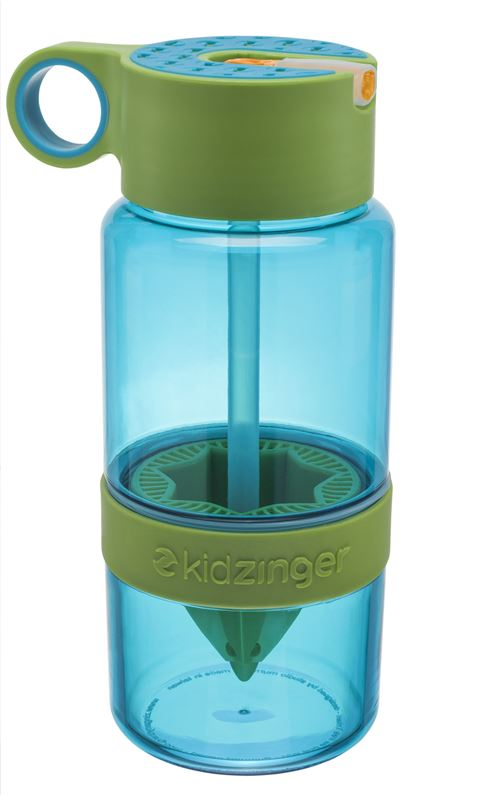 Zing Anything – Kid Zinger Naturally Flavoured Water Bottle Blue 473ml