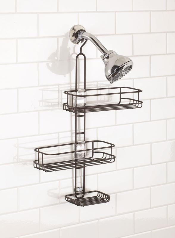 InterDesign – Linea Bronze Shower Caddy