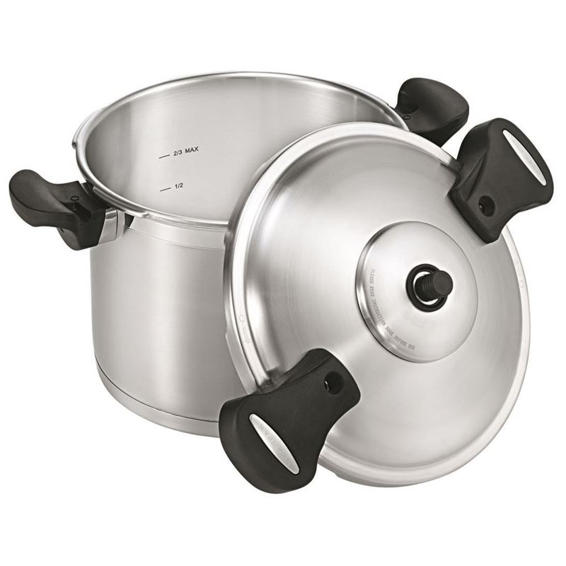 Scanpan – Pressure Cooker with Side Handles 8Ltr 24cm
