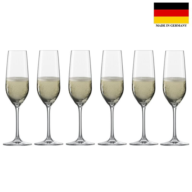 Schott Zwiesel – Vina Tulip Champagne Glass 227ml Set of 6 (Made in Germany)