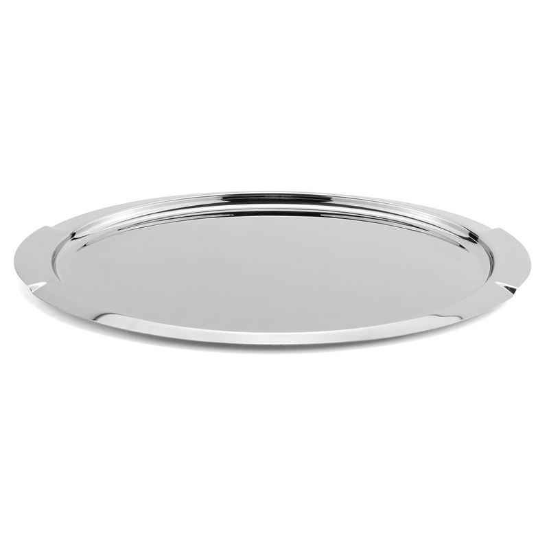 Zuhause – Maxim Deluxe Stainless Steel Oval Tray 50x30cm