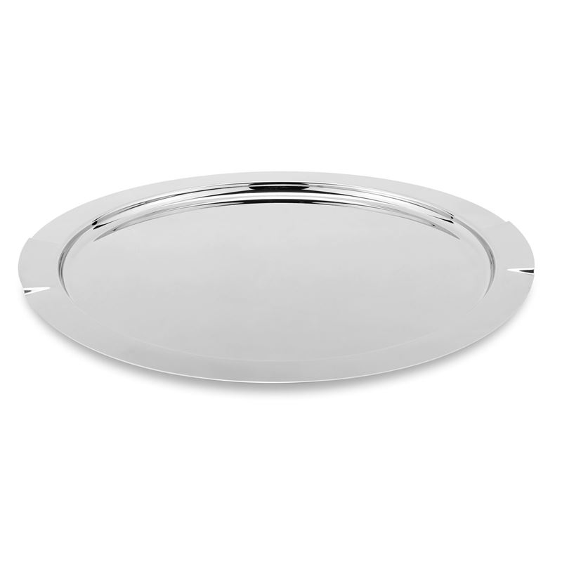Zuhause – Maxim Deluxe Stainless Steel Round Tray 47cm