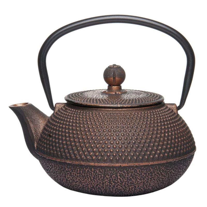 Benzer – Orient Express Zen Cast Iron Tea Pot Golden Black 800ml