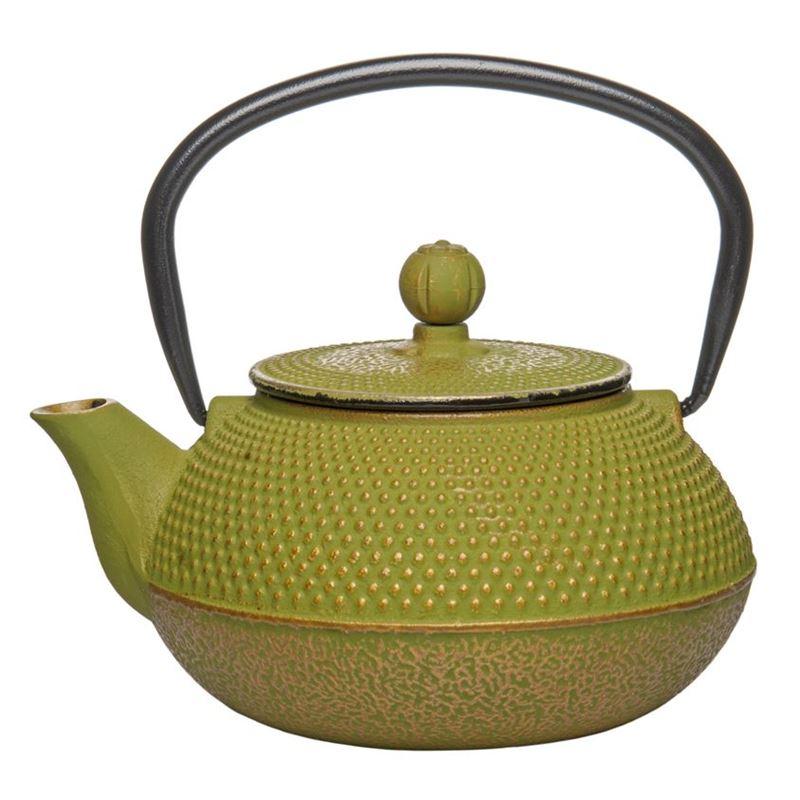 Benzer – Orient Express Zen Cast Iron Tea Pot Golden Green 800ml