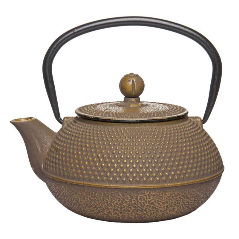 Benzer – Orient Express Zen Cast Iron Tea Pot Golden Grey 800ml