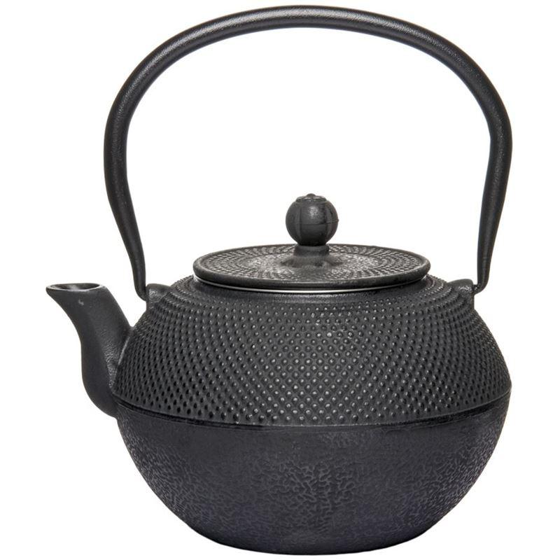 Benzer – Orient Express Zen Cast Iron Tea Pot Black 1.2Ltr