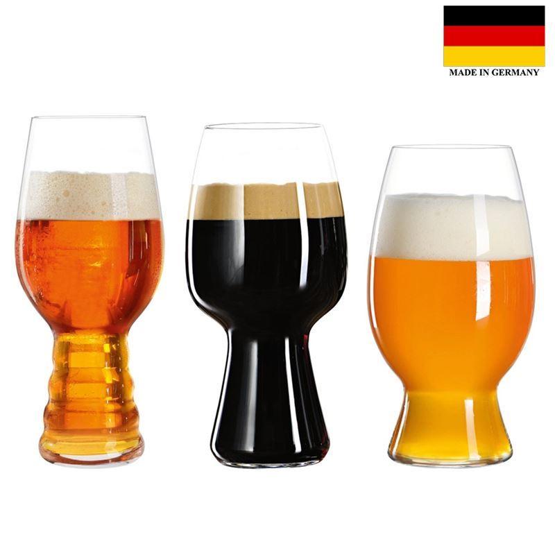 Spiegelau – Craft Beer Tasting Beer Set of 3 (Made in Germany)