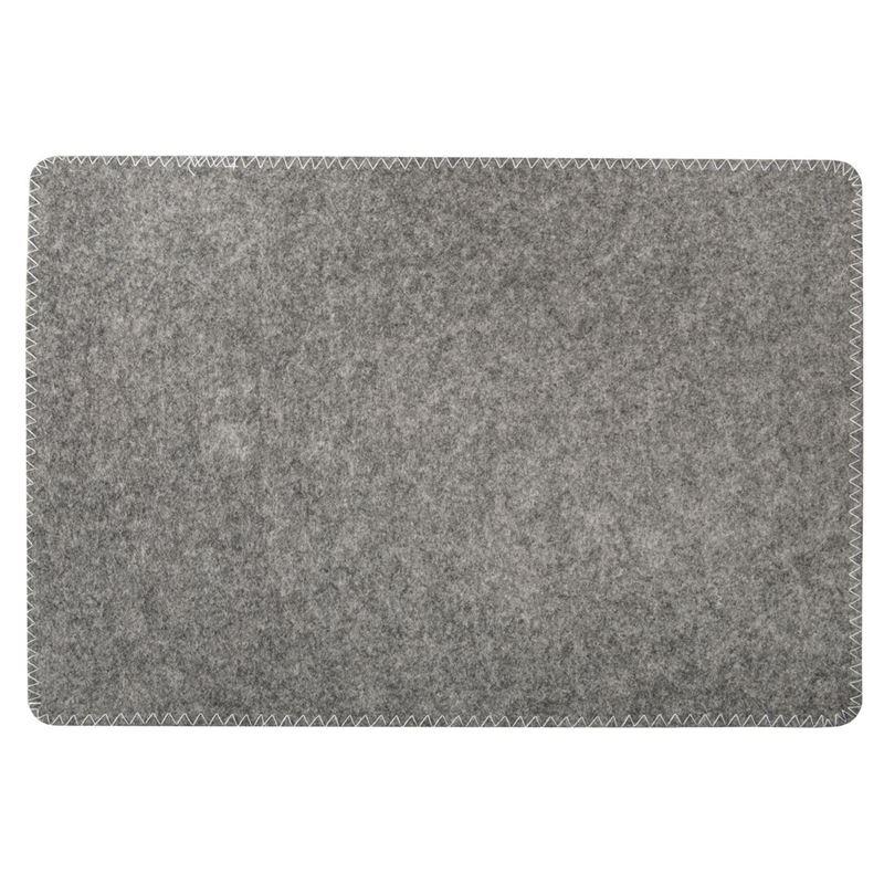 Zuhause – Kikko Felt Placemat 45x30cm Dark Grey