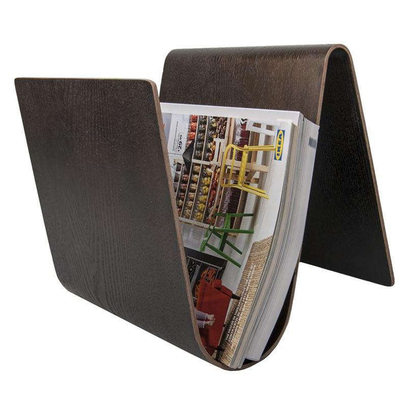 Zuhause – Jasper Designer Collection Niklas Magazine Rack Willow Brown 25cm