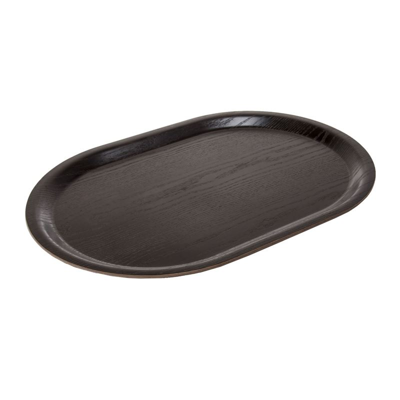 Zuhause – Jasper Designer Collection Slater Oval Tray 40x27cm Willow Brown