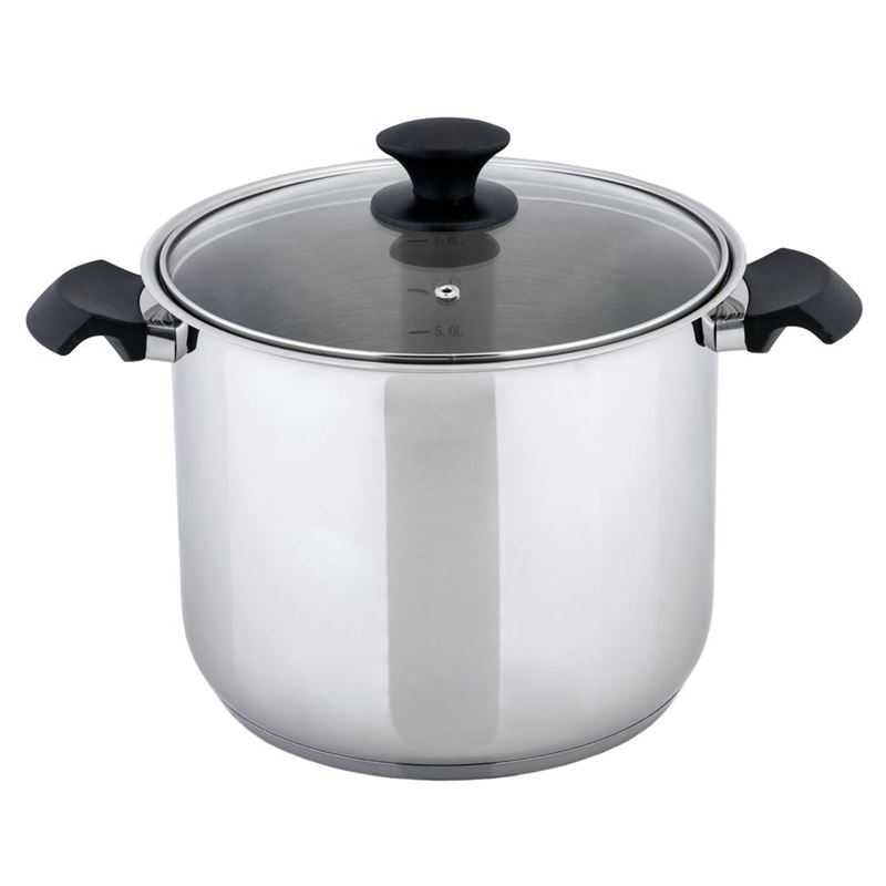 Benzer – Rosti 24cm 9Ltr Stockpot with Lid 18/10 Stainless Steel
