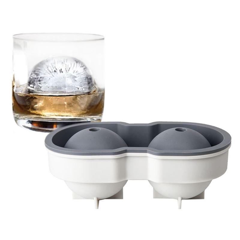 samsam – Sphere Jumbo Ice Ball Mould – 2 Balls Charcoal