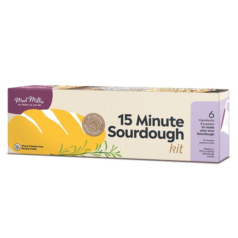 Mad Millie – 15 Minute Sourdough Kit