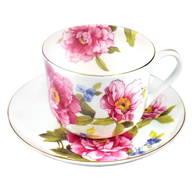 Dan Samuels – Florabelle Fine Bone China Breakfast Cup and Saucer 370ml Isabelle
