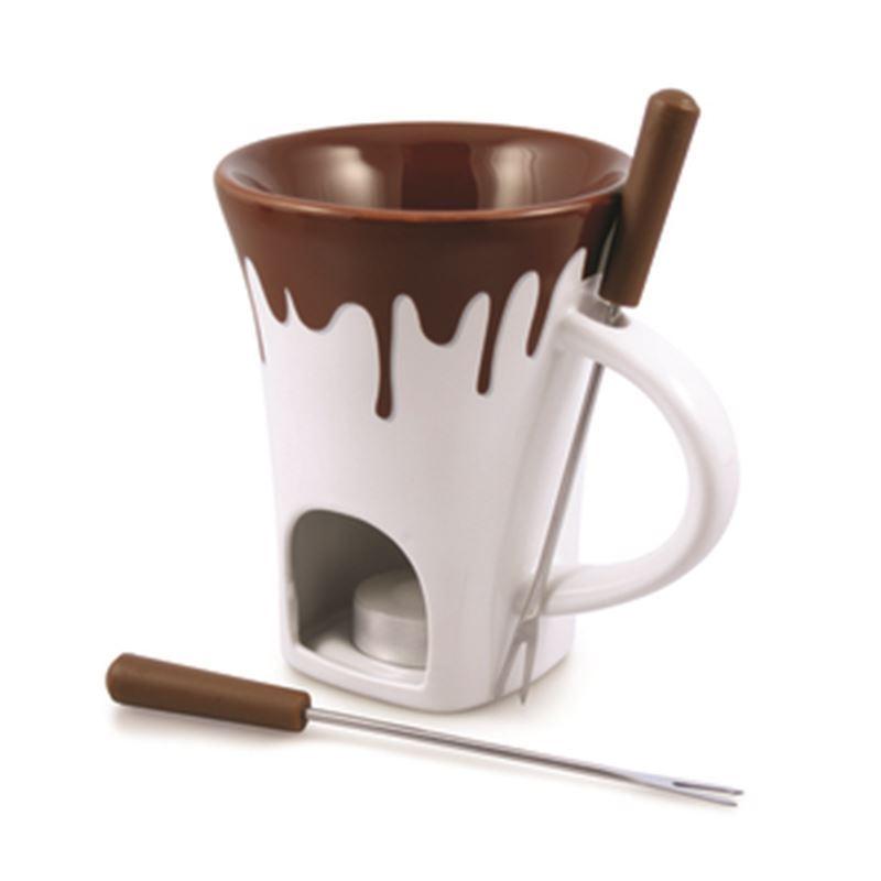 Swissmar – Nostalgia 4pc Chocolate Fondue Set