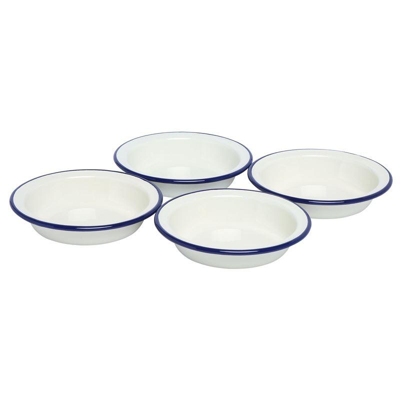 Wiltshire – Enamel Pie Dish 14cm set of 4