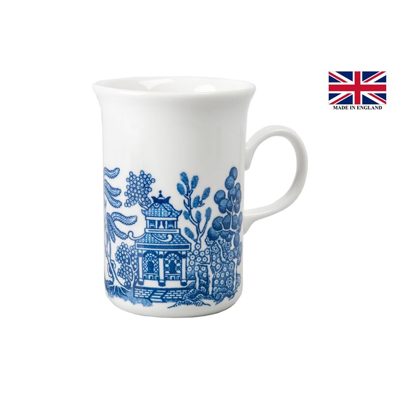 Queens by Churchill – Blue Willow Sheraton Mug 240ml (Made in England)