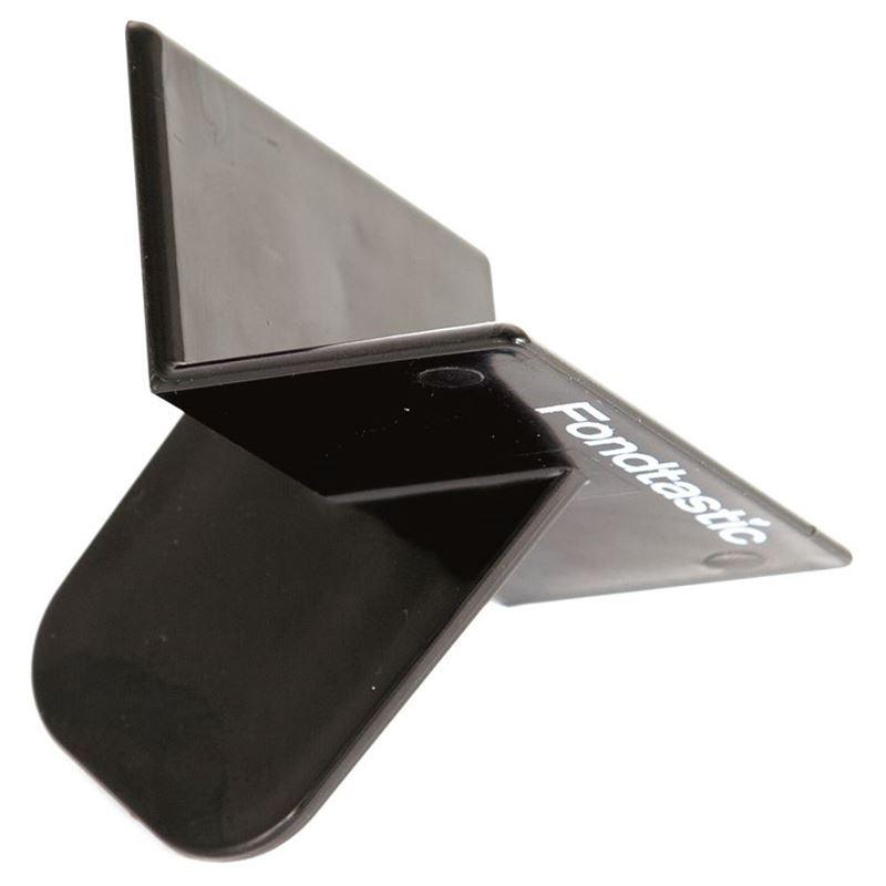Fondtastic – Fondant Corner Smoother Black 8.5×7.5×7.5cm