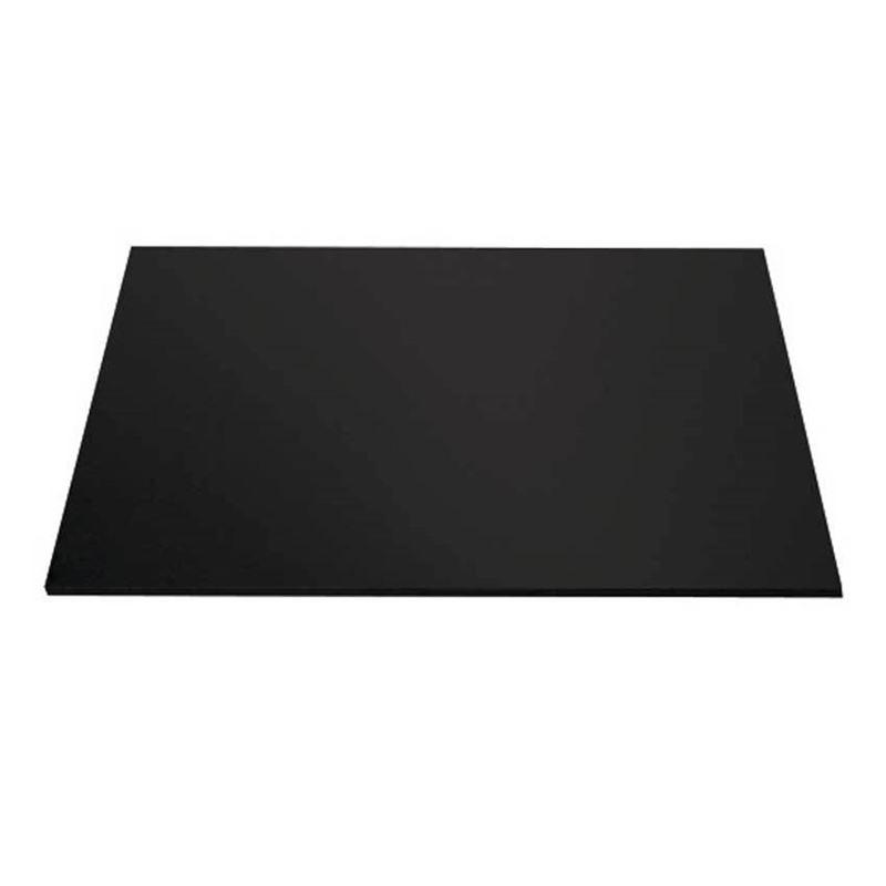 Mondo – Cake Board Square Black 10″/25cm
