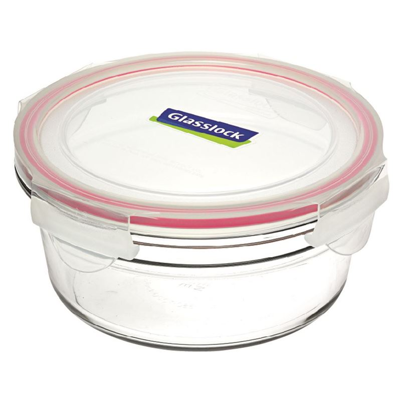 Glasslock – Tempered Glass OVEN SAFE Round Container 450ml