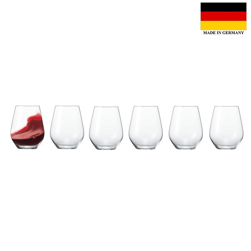Spiegelau – Authentis Casual All Purpose 460ml Tumbler 6 Pack (Made in Germany)