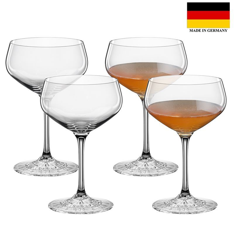 Spiegelau – Perfect Serve Collection by Stephan Hinz Coupette 235ml Set of 4 (Made in Germany)